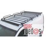 Portaequipajes Serie N para furgones largo 198 cms.