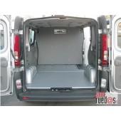 Separador carga contrachapado abedul (color gris) FIAT DUCATO 06-- L2-H2 P.L.C., PTAS. TRASERAS, TECHO ELEVADO, SEPARADOR DE CARGA 1 POSICION
