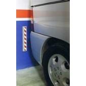 Protector espuma antigolpes para garage. 2 uds.