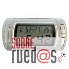 Reloj, calendario, termómetro interior