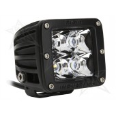 "JUEGO FAROS LED DUALLY SERIES 3X3"" - 4 LEDS (1300 Lumens) - 12/24V - FLOOD"