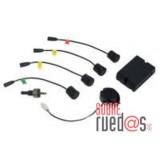 Sensor de aparcamiento Magic Watch MWE 810. 4 sensores detrás, ancho hasta 2,20 m.