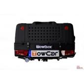 Cofre trasero porta-perros Towbox V1 Dog Black. Envío Incluido
