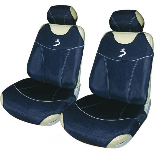 Juego de fundas universales dunes asientos delanteros for Fundas asientos 4x4