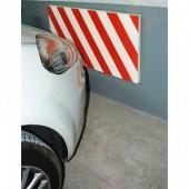 Protector garaje 500 x 330 x 40 Roja-Blanca