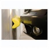 Protector pared. Caucho EVA amarillo