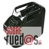 Bidón gasolina metálico 10L. Homologado