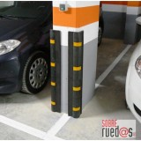 Paragolpes esquinas de PVC reciclado para garaje