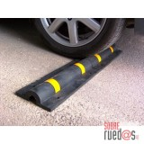 Delimitador suelo PVC garaje con reflectante