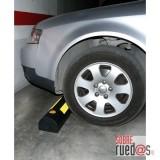 Tope rueda garaje, alto 600x150x120 mm