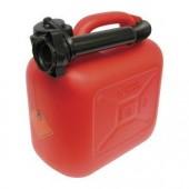 Bidón gasolina plástico 10L. Homologado