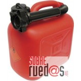 Bidón gasolina plástico 20L. Homologado