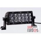 """JUEGO FAROS E-SERIES - 2 FILAS de LED 6"""" (15cm) - 12 LEDS (2370 Lumens) - 12/24V - SPOT (Largo alcance)"""