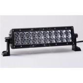"""JUEGO FAROS E-SERIES - 2 FILAS de LED 10"""" (25cm) - 20 LEDS (3950 Lumens) - 12/24V - COMBO (Largo alcance + expansión)"""