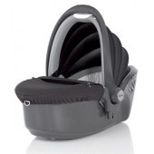 Capazo de seguridad Baby Sleeper Black.