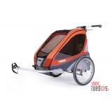 Carrito Gemelar Multifuncional Thule Chariot Corsaire2+ Kit bicicleta