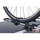 Juego 4 abrazaderas rueda bici Thule 591