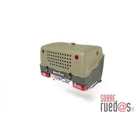 Cofre trasero porta-perros Towbox V1 Dog Verde. Envío Incluido