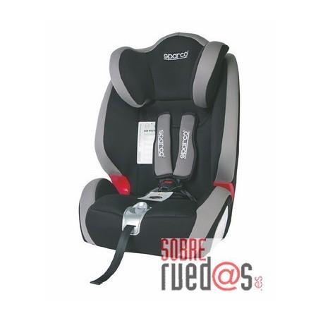 Silla bebe sparco f1000 k gris grupo 1 2 3 env o incluido sobreruedas comunicaci n s l - Silla bebe sparco ...