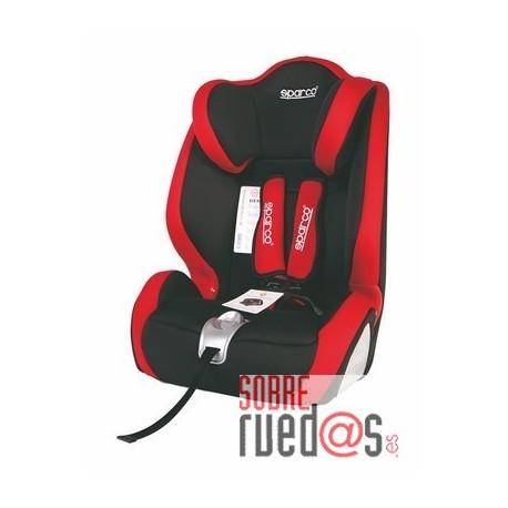 Silla bebe sparco f1000 k roja grupo 1 2 3 env o incluido sobreruedas comunicaci n s l - Silla bebe sparco ...