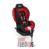 SILLA BEBE SPARCO F500i K ROJA GRUPO 1 (Envío incluido)