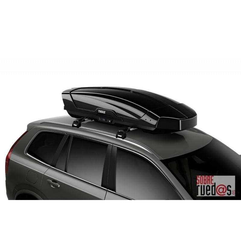 Cofre de techo thule motion xt l negro glosssy 450l env o incluido sobreruedas comunicaci n s l - Cofre techo coche ...